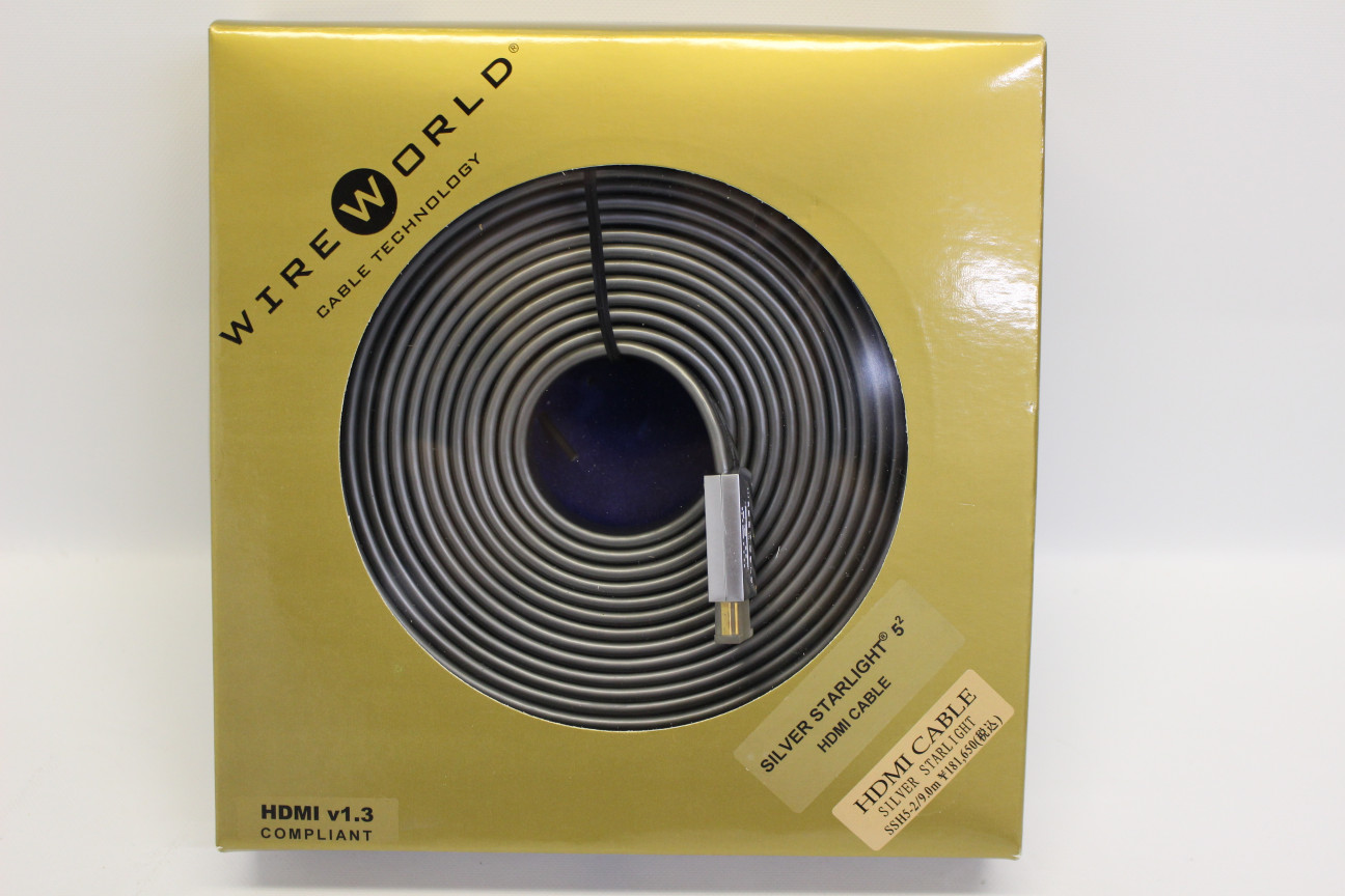 【中古】WireWorld SSH5-2/9.0m【コード00-98535】